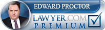 Edward Albert Proctor  Lawyer Badge