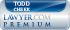 Todd Evans Cheek  Lawyer Badge