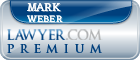 Mark Lewis Weber  Lawyer Badge