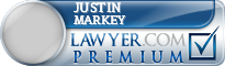 Justin Peter Markey  Lawyer Badge