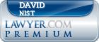 David Robert Nist  Lawyer Badge