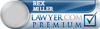 Rex Wayne Miller  Lawyer Badge