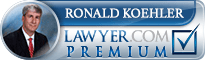 Ron Koehler  Lawyer Badge