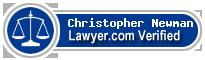 Christopher John Newman  Lawyer Badge