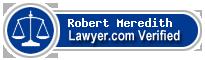 Robert James Meredith  Lawyer Badge