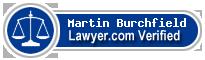 Martin Donald Burchfield  Lawyer Badge