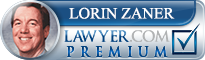 Lorin Jay Zaner  Lawyer Badge
