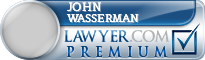 John Carroll Wasserman  Lawyer Badge