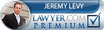 Jeremy William Levy  Lawyer Badge