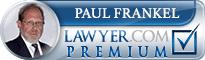 Paul David Frankel  Lawyer Badge