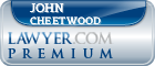 John Simmons Cheetwood  Lawyer Badge