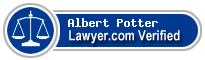 Albert Loron Potter  Lawyer Badge