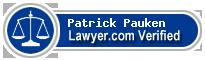 Patrick David Pauken  Lawyer Badge