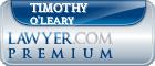 Timothy Tucker O'Leary  Lawyer Badge