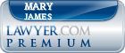 Mary Margarett James  Lawyer Badge