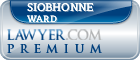 Siobhonne Kissling Ward  Lawyer Badge