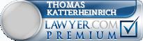 Thomas Howard Katterheinrich  Lawyer Badge