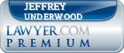 Jeffrey Alan Underwood  Lawyer Badge