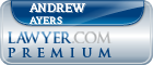 Andrew Jay Ayers  Lawyer Badge