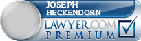Joseph Harold Heckendorn  Lawyer Badge