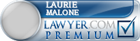 Laurie Ann Malone  Lawyer Badge