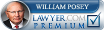 William Alan Posey  Lawyer Badge