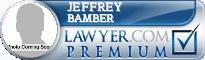 Jeffrey V. Bamber  Lawyer Badge