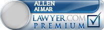Allen Basil Aimar  Lawyer Badge
