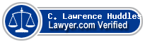 C. Lawrence Huddleston  Lawyer Badge