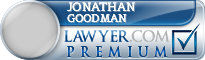 Jonathan Howard Goodman  Lawyer Badge