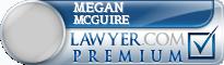 Megan Beryl Mcguire  Lawyer Badge