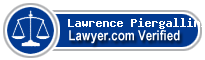 Lawrence Thomas Piergallini  Lawyer Badge
