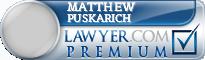Matthew Paul Puskarich  Lawyer Badge