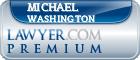 Michael B Washington  Lawyer Badge