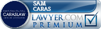 Sam G. Caras  Lawyer Badge