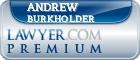 Andrew Jay Burkholder  Lawyer Badge