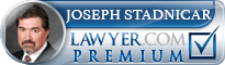 Joseph William Stadnicar  Lawyer Badge