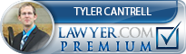 Tyler Earl Cantrell  Lawyer Badge