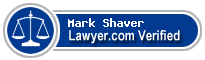 Mark Austin Shaver  Lawyer Badge