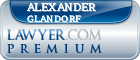 Alexander Kenneth Glandorf  Lawyer Badge