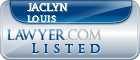 Jaclyn Louis Lawyer Badge