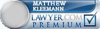 Matthew Joseph Kleemann  Lawyer Badge