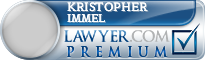 Kristopher Blaine Immel  Lawyer Badge