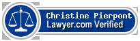 Christine Murphy Pierpont  Lawyer Badge