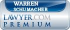 Warren Dell Schumacher  Lawyer Badge