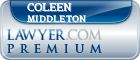 Coleen F. Middleton  Lawyer Badge