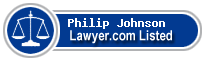 Philip Johnson Lawyer Badge