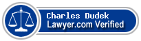 Charles Joseph Dudek  Lawyer Badge