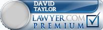 David M. Taylor  Lawyer Badge