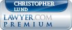 Christopher Clayton Lund  Lawyer Badge